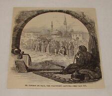1879 magazine engraving ~ SAINT VINCENT DE PAUL, Voluntary Captive