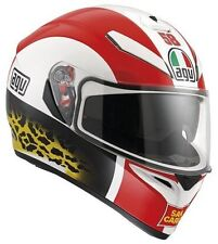 Cascos brillantes de motocicleta para conductores talla XXL
