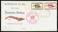 MayfairStamps Habana 1957 United Nations 12th Anniversary Event Cover WWH94297