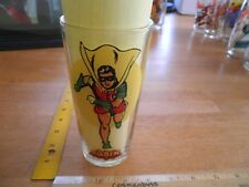 Robin Pepsi Super series glass 1976 Clean and Bright! the boy wonder