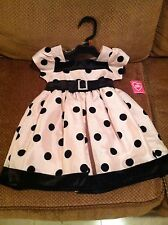 What A Doll Polka Dot Dress Toddler size 2T Toddler Dress Only