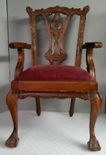 REPRODUCTION CHIPPENDALE CHAIR FOR DOLLS OR BEARS