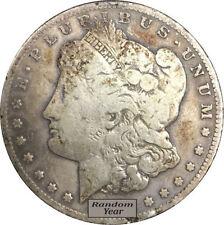 Random Year $1 Cull Morgan Silver Dollars Full Date No Holes