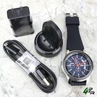 Samsung Galaxy Watch SM-R800 46mm Silver Case SM-R800NZSAXAR w/ New Generic Band