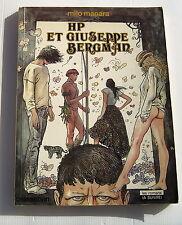 Giuseppe Bergman . 1 . HP et Giuseppe Bergman . MANARA . BD Souple EO Casterman