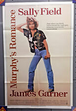 Original 1986 Murphy's Romance 1-Sheet Movie Poster-FIeld/Garner-Folded-MHPO-063