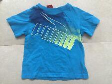 Boys Puma T-Shirt Size 2T Blue