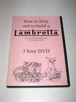 "Original DVD  ""HOW TO STRIP AND REBUILD A LAMBRETTA""..."