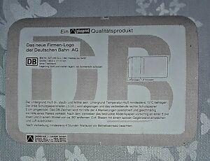 Das neue Firmen-Logo der Deutschen Bahn AG 120,00 x 171,4 mm