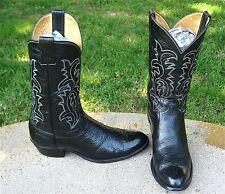 JUSTIN  COWBOY WESTERN   BOOTS  MEN'S 10.5'D  NICE