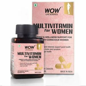 shyama Life Science Multivitamin for Women - with Vitamin A, Lutein & Lycopene
