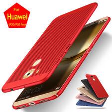 Para Huawei P20 Pro P20 Ligero Respirable Mate A prueba de choques Funda Carcasa
