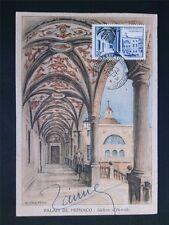 Monaco MK 1952 Postmuseum Galerie Hercule maximum CARTE MAXIMUM CARD MC cm c6766