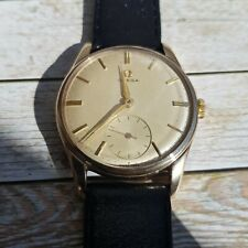 Omega 9k Solid Gold Cal 267 Men's Watch