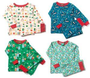 Little Green Radicals 100% Organic cotton Pyjamas P J 's age 2 3 4 5 6 7 8  LGR