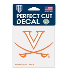 "Virginia Cavaliers Perfect Cut 4""x4"" Color Decal -Auto Sticker Emblem NCAA"