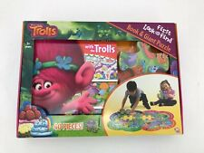 Trolls Look and Find Book & Puzzle: 40 Pieces