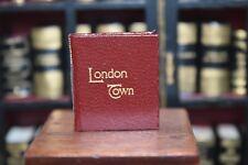 London Town  Barbara J Raheb Miniature Collectable Book