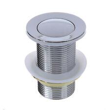 8cm Bonde Pop-up Automatique Pr Evier Lavabo Sans Trop-plein SC
