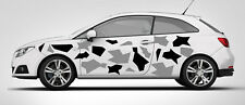 CAR GRAPHICS CAMO KIT VINYL DECALS STICKERS CAMOUFLAGE VINYL ANY SMOOTH SURFACE