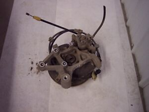 2009 pontiac g6 rt rear knuckle/spindle/hub/calip/emergency cable assble complt