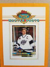 1992-93 Topps Stadium Club Master Photo #8 Of 12 Wayne Gretzky