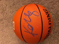 Kobe Bryant Lakers Signed Mini Basketball Signed 9/29/96