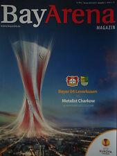 Programm UEFA EL 2012/13 Bayer Leverkusen - Metalist Charkow