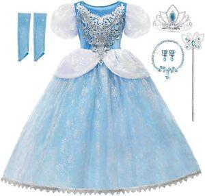 Princess Cinderella Girls Toddler Dress Up Set