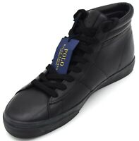 POLO RALPH LAUREN MAN SNEAKER SHOES CASUAL FREE TIME LEATHER CODE 816710022001