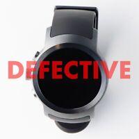 DEFECTIVE LG - Watch Sport Smartwatch 45.4mm Titan Silver - Titan silver (W280)