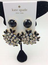 $98 Kate Spade Be bold jet stone & sequin drop earrings KSD3