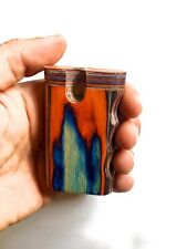 """Wooden Dug Out Box 3""""x 2"""" Inch.  One Hit"""
