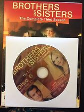 Brothers and Sisters - Season 3, Disc 6 REPLACEMENT DISC (not full season)