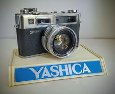 Yashica Electro 35 GS 35mm Rangefinder Film Camera Clean and Ready To Shoot!