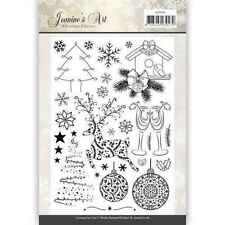 Jeanines Art Christmas Classics Clear Acrylic Stamps 29pcs