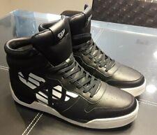 Armani Jeans Nero High Top Sneakers Black/White US11.5/EUR46