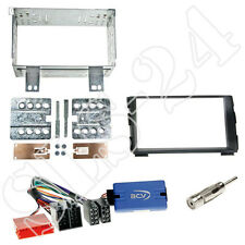 Kia ceed ed ab08/2009 doble DIN diafragma + China Radio volante Interface Kit de integracion