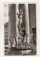 Stockholm Orefeus Carl Milles Sweden Vintage RP Postcard 366b