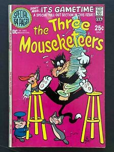 THE THREE MOUSEKETEERS #5 DC COMICS 1971 VF-