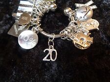 Celebrate Your 20 pound Weight Loss with #20 Charm for Weight Watchers Keychain!