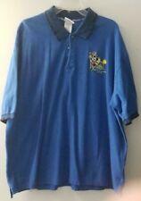 Walt Disney World Blue Happiest Place Celebration Polo Shirt - Men's Size Xxxl