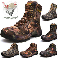 MENS HIKING OUTDOOR HUNTING BOOTS TRAVEL BOOTS STEEL TOE CAP SHOES TRAINER HIKER