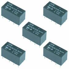 5 x 12V Subminiature PCB Relay DPDT 2A Sub Mini