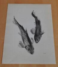 Bachforellen von Meyer-Gasters - Kunstdruck Farbdruck Art Print Forelle Fische
