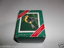 Hallmark Ornament Goldfinch 1987 Hand Painted Porcelain QX4649 - NEW