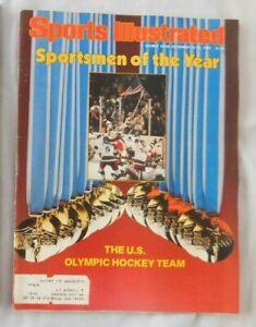 U.S. Hockey Olympic Team 1980 Sports Illustrated Ex