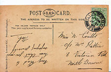 Genealogy Postcard - Family History - Coutts - Victoria Rd - North Berwick 510A