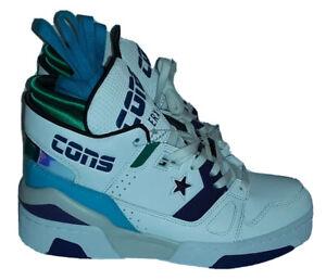 NEW 163779C Men's Converse Cons ERX 260 MD Hi-Tops  - White Court/Purple - Sz 6