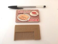 ORIGINAL PEIGNE PLASTIC FORME BISCUIT MADE IN JAPAN COMB HAIR
